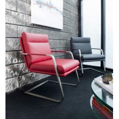 Fauteuil Design MANGO Rouge