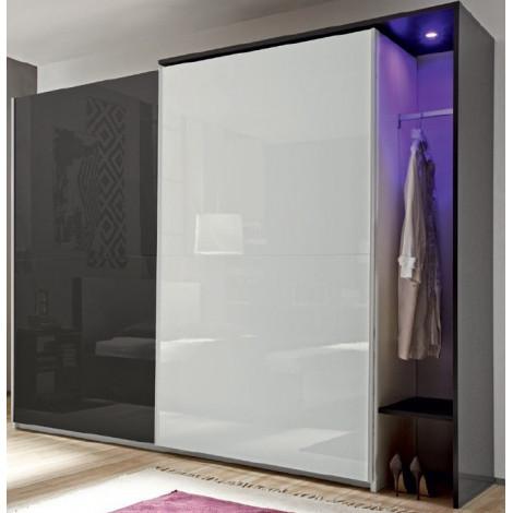 superbe armoire coulissante de 210 280 cm prix exeptionnel. Black Bedroom Furniture Sets. Home Design Ideas