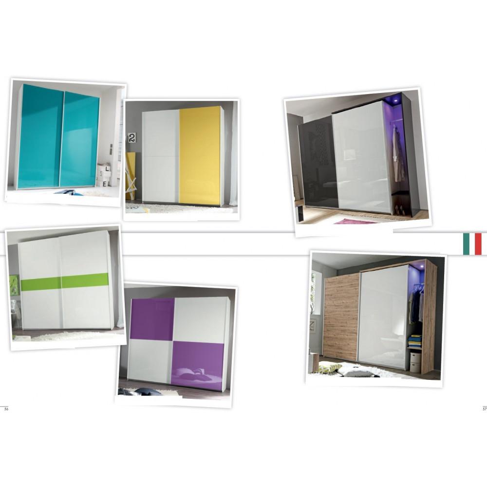armoire coulissante moderne 180 210 240. Black Bedroom Furniture Sets. Home Design Ideas