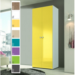 ARMOIRE LINEA COLOR Portes battantes