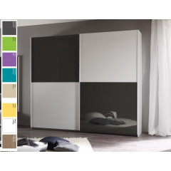 ARMOIRE LINA DAMIER Coulissante multidimensions