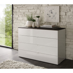Commode moderne 4 tiroirs Larges