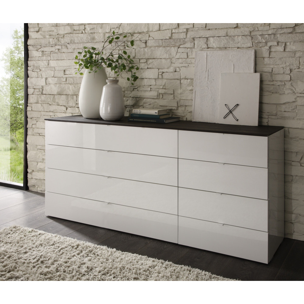 commode design tambura 8 tiroirs. Black Bedroom Furniture Sets. Home Design Ideas