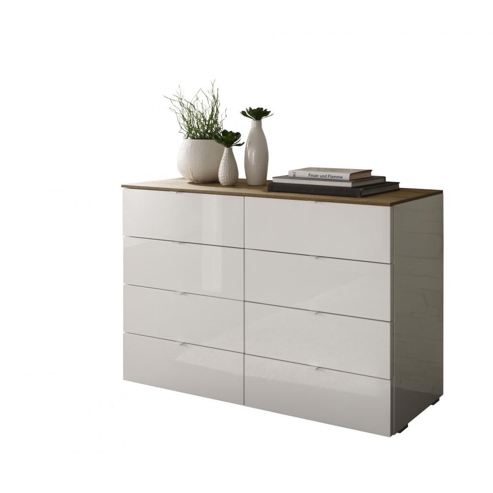 commode tambura 8 tiroirs 108 cm. Black Bedroom Furniture Sets. Home Design Ideas