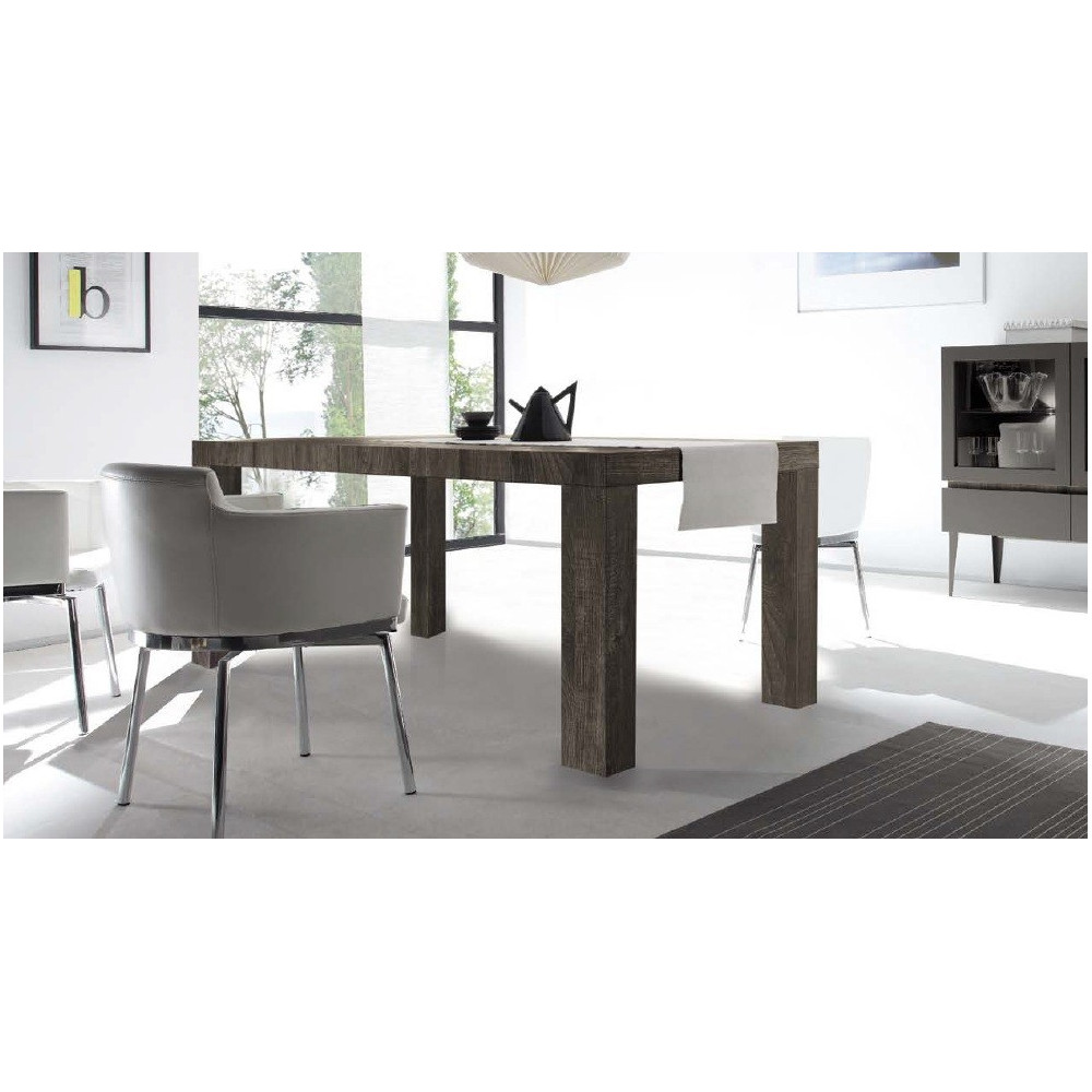 Table de salle a manger rex 100 185x76 for Table salle a manger wenge