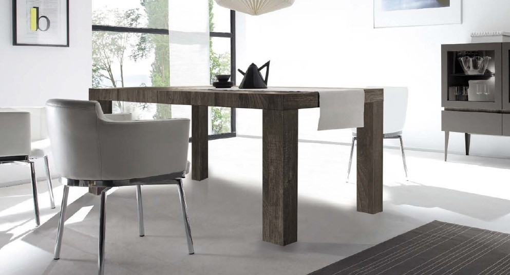 Table de salle a manger rex 100 185x76 for Table salle a manger mobilier de france