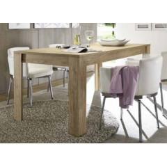 Table à diner chêne clair PALMIRA