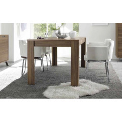 Table de repas MESSINA 140 x 90 cm Teinte noyer