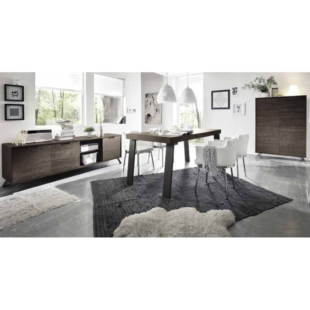 table de repas syracuse 189 x 78 x 88 weng. Black Bedroom Furniture Sets. Home Design Ideas