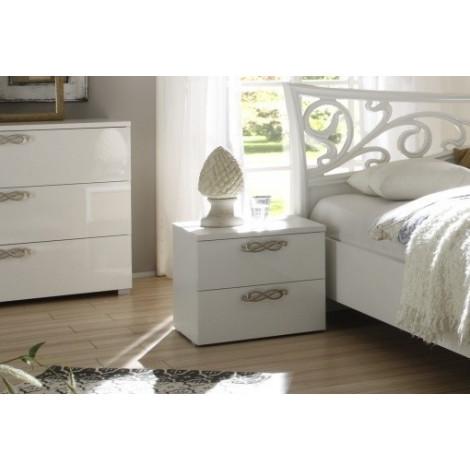 chevet ambrosia 2 tiroirs. Black Bedroom Furniture Sets. Home Design Ideas