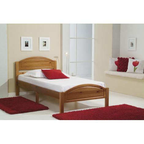 lits pin massif coloris miel antiques 90 ou 120x190 pin massif. Black Bedroom Furniture Sets. Home Design Ideas