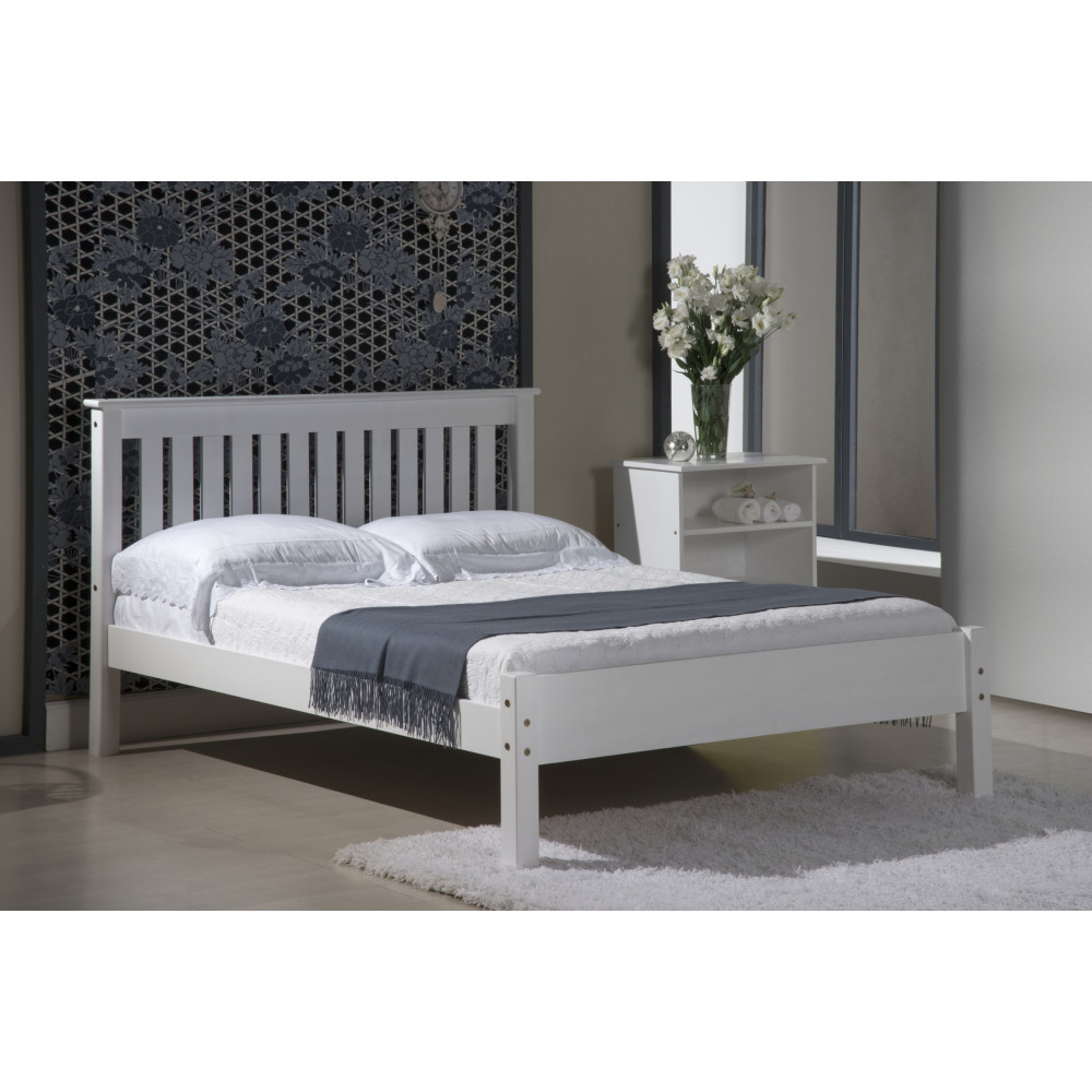 lits pin massif coloris graphite 140x190 ou200 europe de l 39 ouest. Black Bedroom Furniture Sets. Home Design Ideas