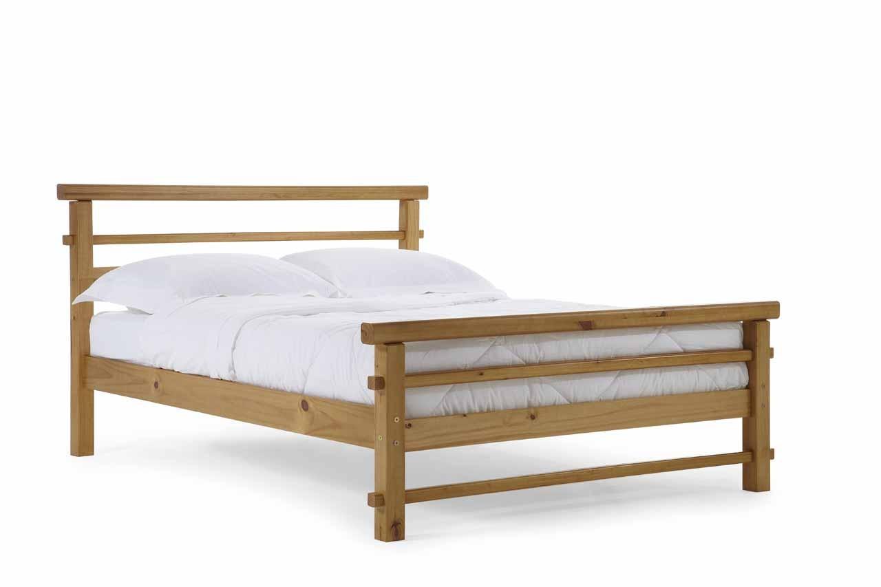 lits pin massif coloris miel antique 140x190 200 europe de l 39 ouest. Black Bedroom Furniture Sets. Home Design Ideas