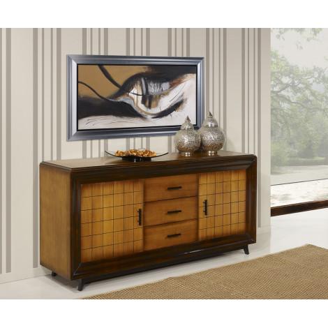 bahut ch ne massif prestige 180 280 cm. Black Bedroom Furniture Sets. Home Design Ideas