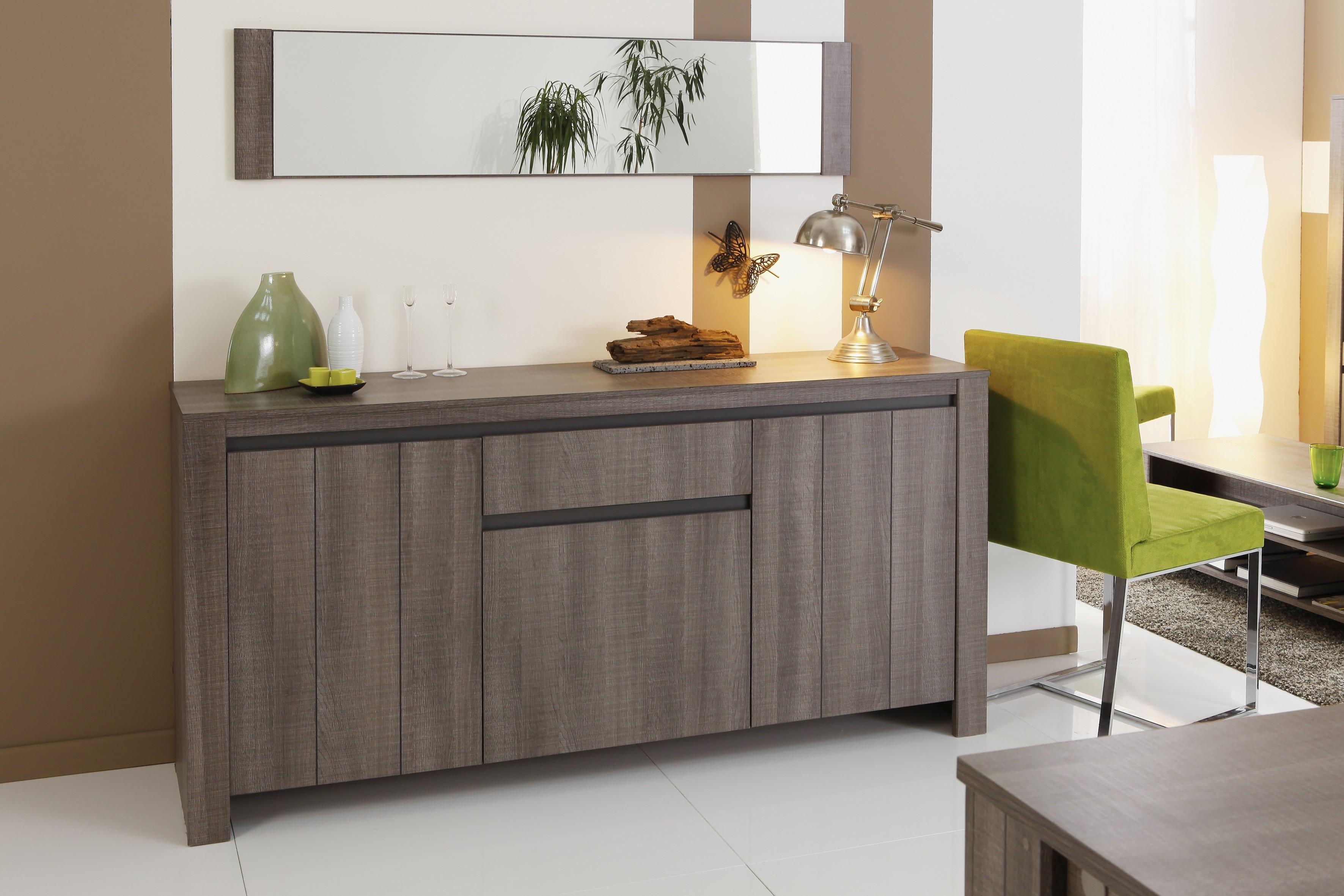 bahut enfilade intense 3 portes 3 portes 1 t prix discount. Black Bedroom Furniture Sets. Home Design Ideas