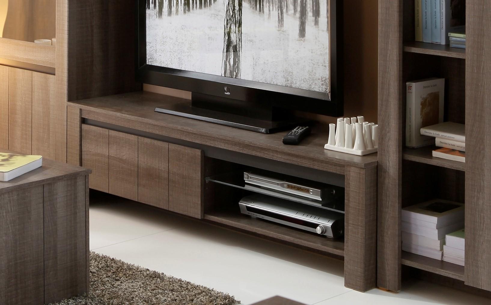 Meuble Tv Intense Teinte R Glisse Prix Discount # Meuble Sous Tv