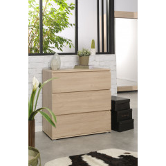 Commode 3 Tiroirs MARTINA