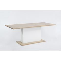Table MUNICH Extensible Chêne 160/205 cm
