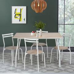Ensemble Table et 4 chaises ERGONE