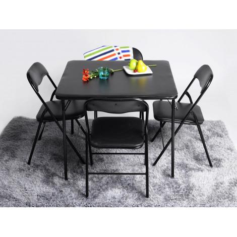 ensemble table et 4 chaises pliables ste - Chaises Pliables
