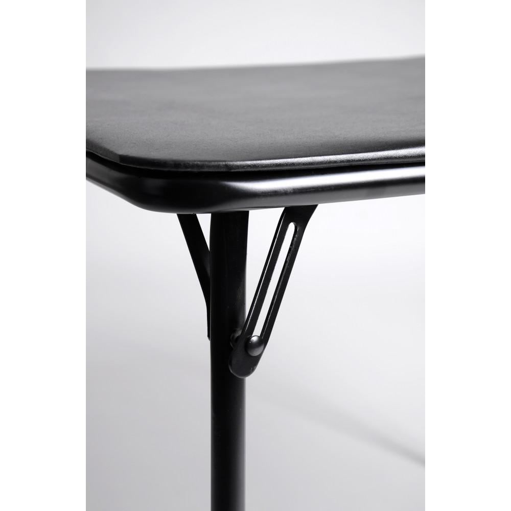 Ensemble table et 4 chaises pliables s te d cor noir for Ensemble table de cuisine et 4 chaises