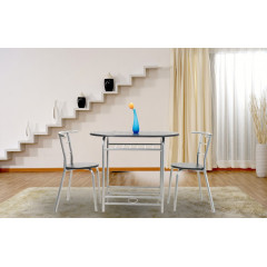 Ensemble Table et 2 chaises FIDJI