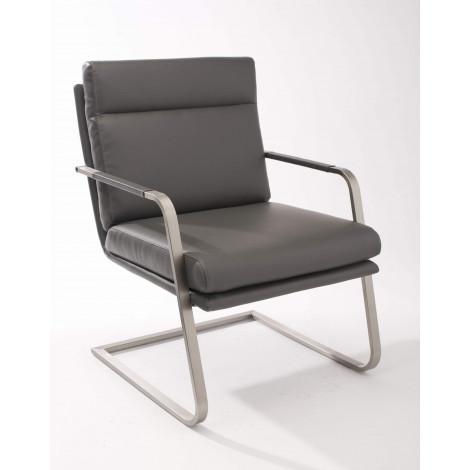 fauteuil mango gris