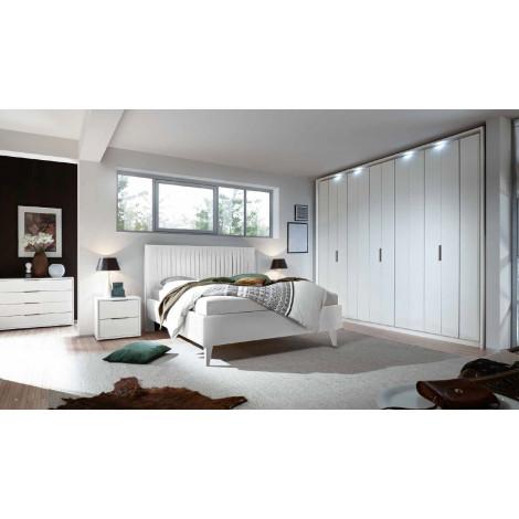 Chambre moderne XAR 2 BLANC