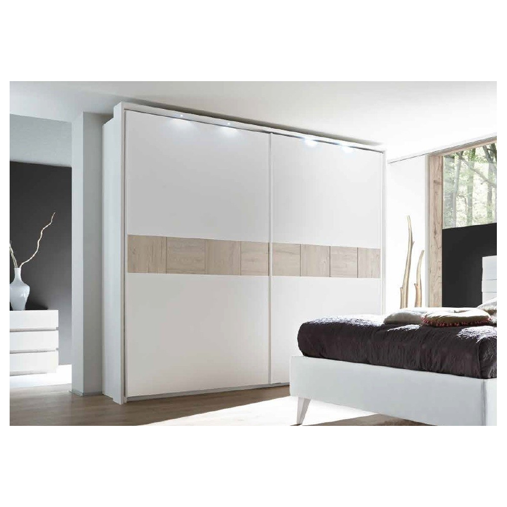 armoire moderne portes coulissante 3 dimensions 3 couleurs. Black Bedroom Furniture Sets. Home Design Ideas