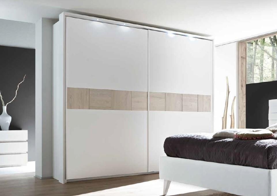 Armoire Moderne Portes Coulissante - 3 Dimensions-3 Couleurs