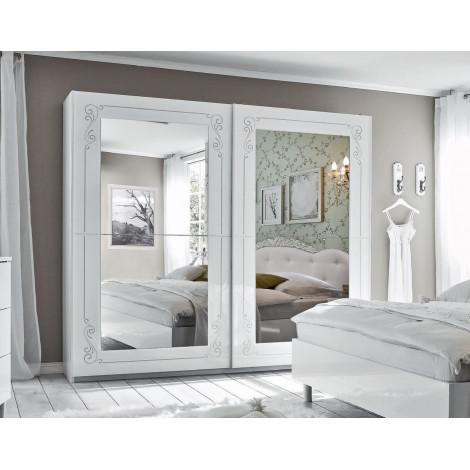 ARMOIRE Design Portes coulissantes Blanche