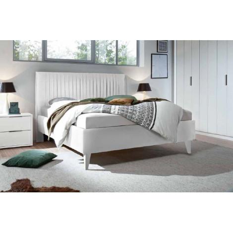 LIT DESIGN blanc 160 ou 180 cm