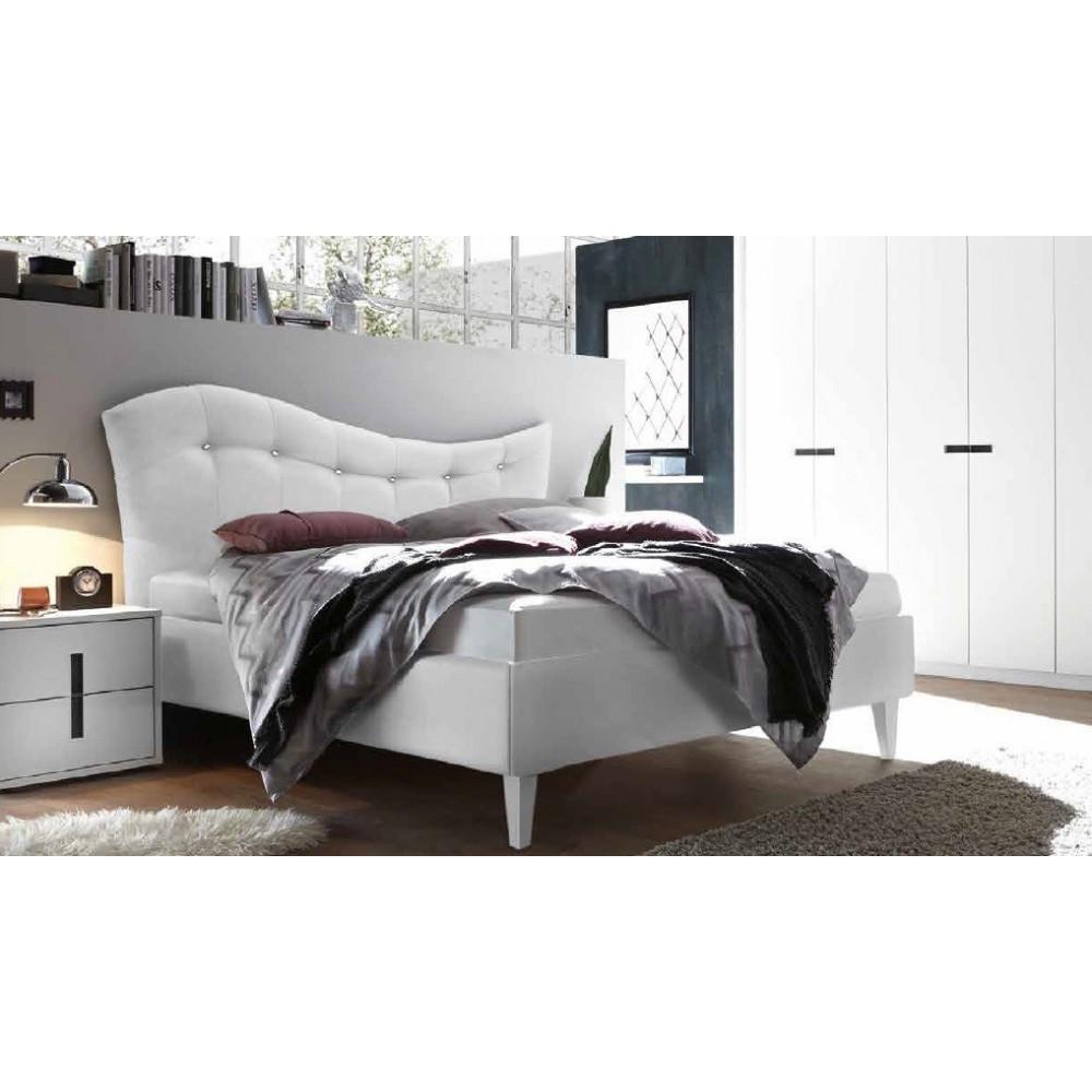 lit moderne pugalb e blanc 160 et 180 x 200 prix exceptionnel