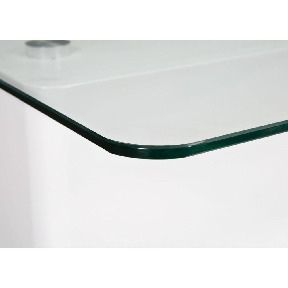 table basse design de salon minuto blanche rectangulaire. Black Bedroom Furniture Sets. Home Design Ideas