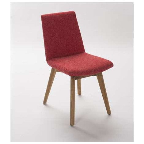 chaise moda vintage rouge. Black Bedroom Furniture Sets. Home Design Ideas