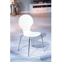 Chaise HUIT blanche