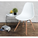Chaise Flamel blanche ( lot de 4)
