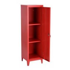 Armoire  industriel métal rouge 1 porte COUNCIL