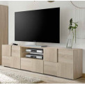 DAMASCUS Meuble TV deux portes un tiroir