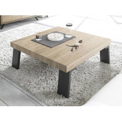TABLE DE SALON PALMIRA PIED METAL