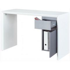 MEGANE bureau blanc et gris