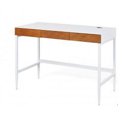 SCANDIA  bureau chene et blanc