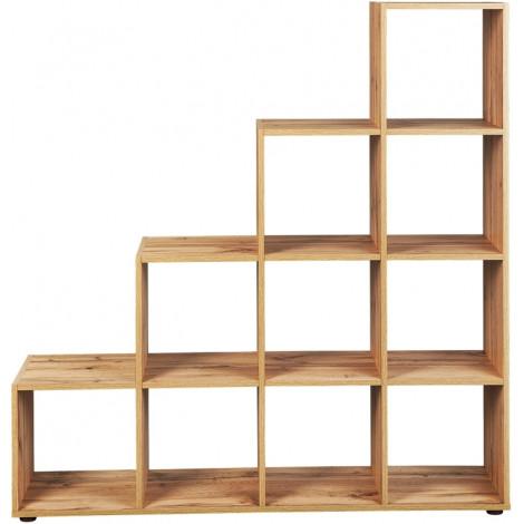 Cubes d'aménagement et décoration 9 cases Acacia
