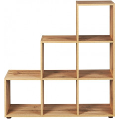 DAMIEN meuble séparateur 6 cases