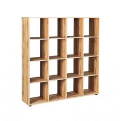 DAMIEN meuble séparateur 16 cases