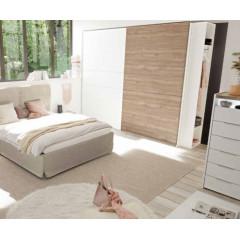 AMELIE armoire coulissante bicolore