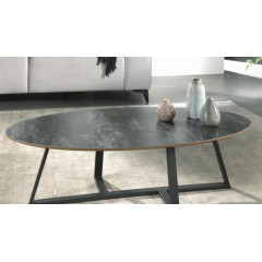 ARIZONA table basse gris foncé