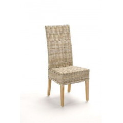 REBECCA chaise en rotin