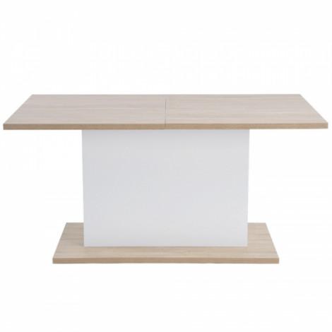 Table MUNICH Extensible Blanche 160/205 cm