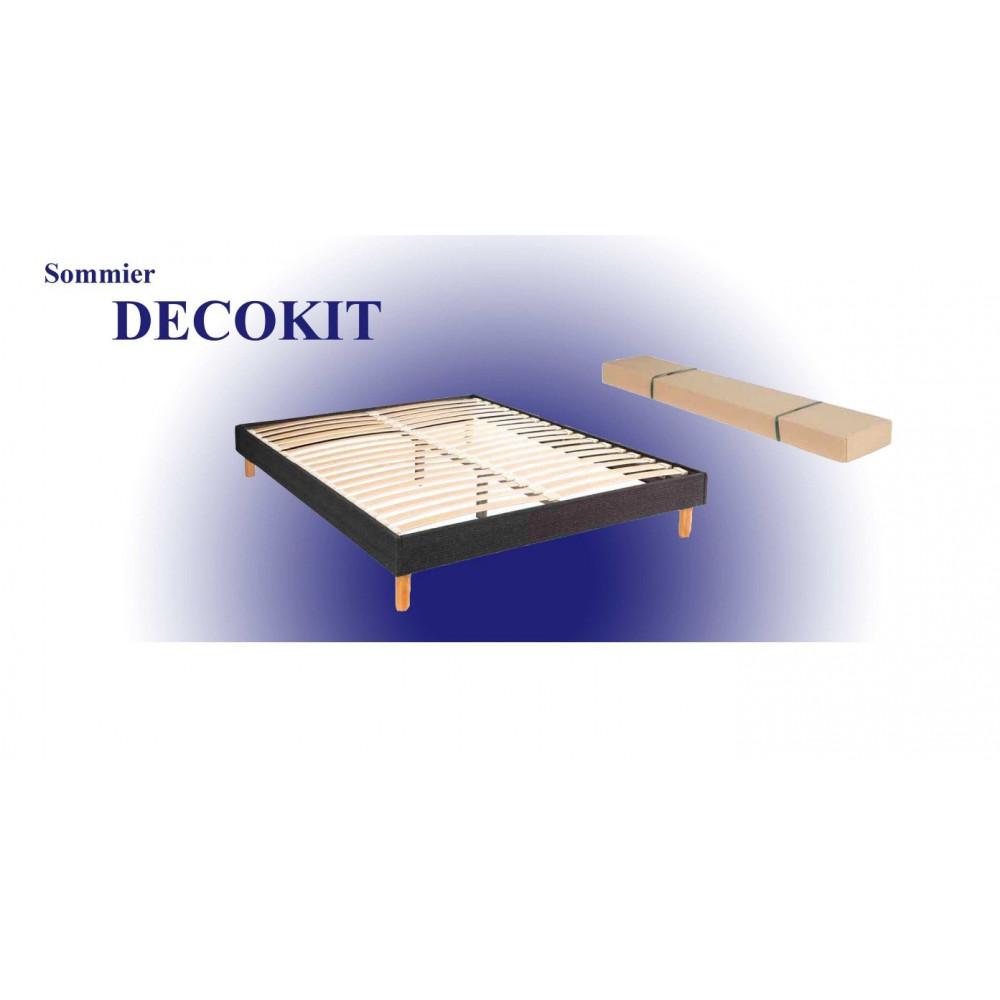 sommier lattes. Black Bedroom Furniture Sets. Home Design Ideas